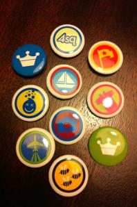 foursquare buttons