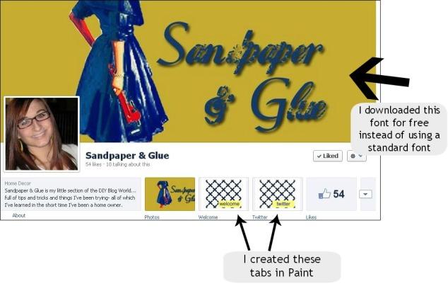Sandpaper & Glue Logo