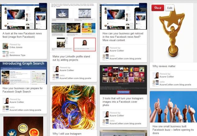 Pinterest Content from azurecollier.com