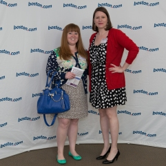 Emily and I at Blog Better Boston
