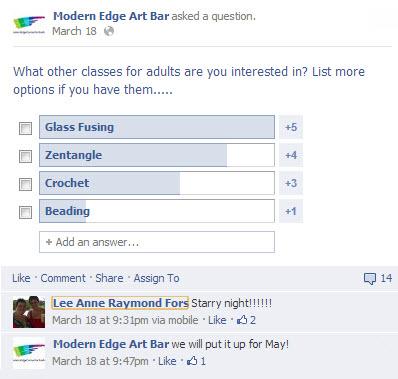 Modern Edge Facebook Poll