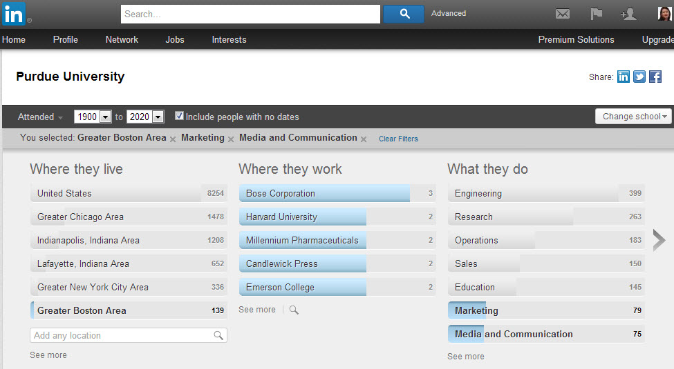 how to find influencers with lot of connections on linkedin
