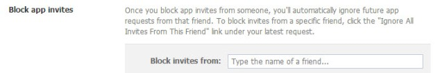 Facebook Block App Invites