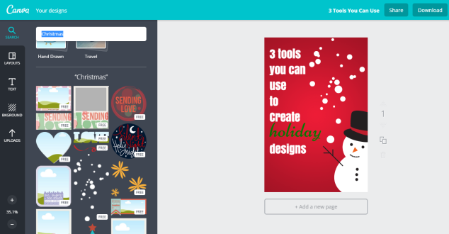 Canva Christmas Designs